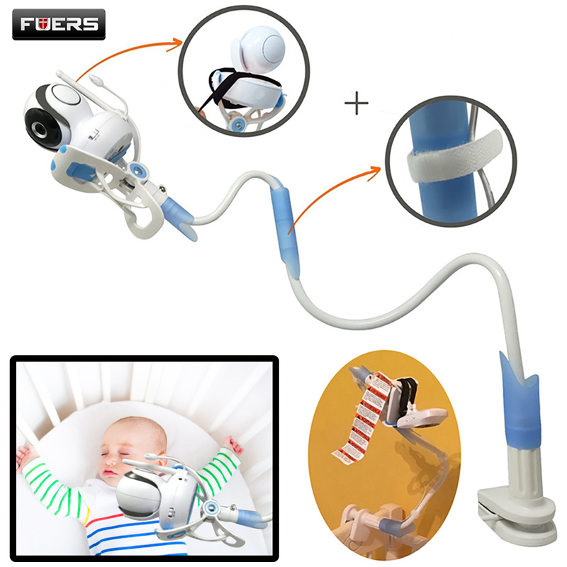 Universal Baby Monitor Holder Adjustable 85cm Phone Holder Flexible Video Baby Camera Stand For Baby Cradle Crib Bed Desk