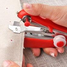 Mini Machine à coudre Portable à fonctionnement manuel, outils de couture créatifs et simples, petite broderie pour la maison et le voyage