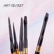 Alta qualidade Esquilo Cabelo SQ645 Viagem Kit escova escovas de pintura artística arte escovas de pintura 5 PC/Set para desenho da aguarela
