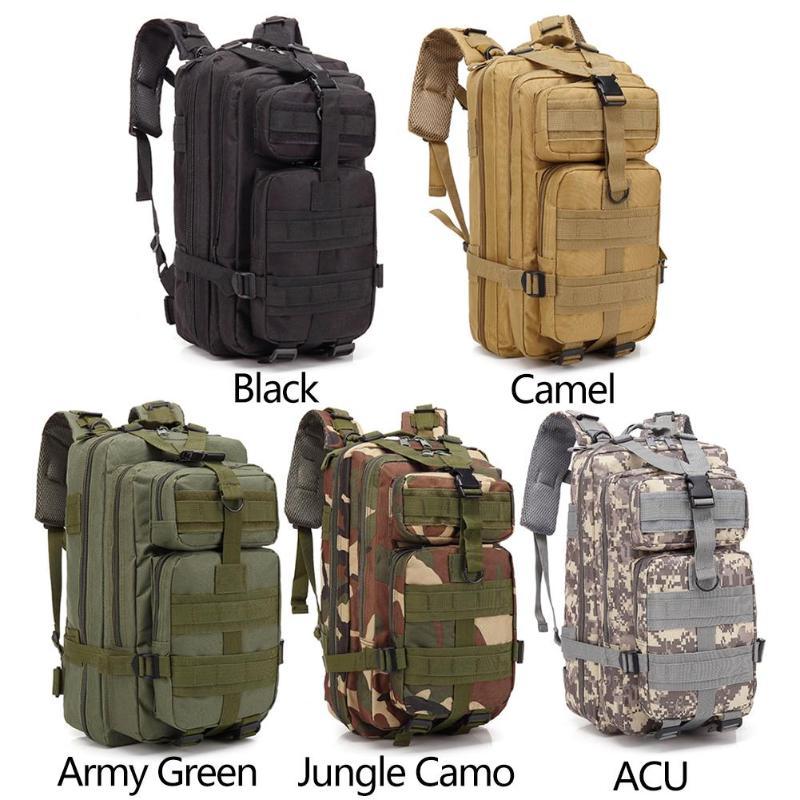 Outdoor Military Rucksacks Tactical Backpack Sports Nylon 30LWaterproof Camping Hiking Trekking Fishing Hunting Bags