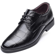 2020 New Brogue Shoes Men Breathable Leather Party