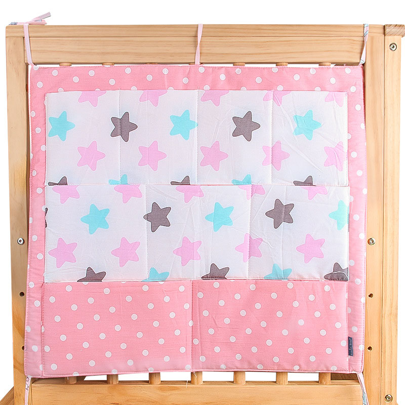 Mother & Kids ... Bedding ... 32689209281 ... 2 ... Muslin Tree Bed Hanging Storage Bag Baby Cot Bed Brand Baby Cotton Crib Organizer 60*50cm Toy Diaper Pocket for Crib Bedding Set ...
