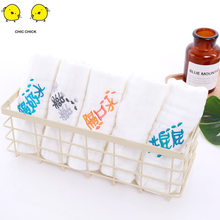 Hot Baby Simple Design Soft Pure Cotton Bibs Burp Cloths Saliva Towel Bath Towels Baby Stuff For Newborns(China)