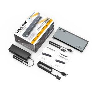 Image 5 - [Intel Zertifiziert] Thunderbolt 3 USB C 4K Display Docking Station Gigabit Ethernet Power Lieferung 85W Für PC Laptop Fenster Mac OS