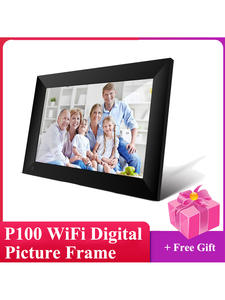 Picture-Frame Touch-Screen Smart-Photo-Frame App-Control Wifi Digital P100 1280x800