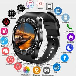 V8 SmartWatch Bluetooth Smart Watch Screen Wrist Watch With Camera 2G SIM Card Slot Waterproof Sports Watch For Android