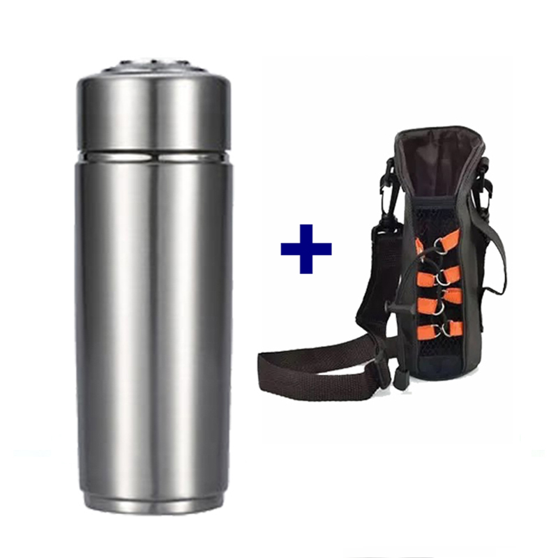 300ml Nano pH 8-10 antioxidant ORP 304 stainless Steel Portable Energy Mineral Alkaline Water Ionizer Alkaline Bottle