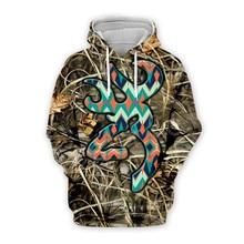 Tessffel Tracksuit Hunting Hunter Animal Camo Colorful New Fashion Casual 3DPrint Zipper/Hoodies/Sweatshirt/Jacket/Men Women s-2