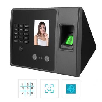 Rozpoznawanie linii papilarnych urządzenie 2 8in ekran TFT HD wodoodporna TCP rozpoznawania twarzy hasło odcisków palców maszyna obsługująca tanie i dobre opinie