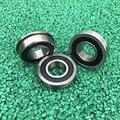 20/10 stücke Flansch lager F6000-2RS F6001-2RS F6002-2RS F6003-2RS F6004-2RS F6005-2RS F6006-2RS flansch rillen kugellager