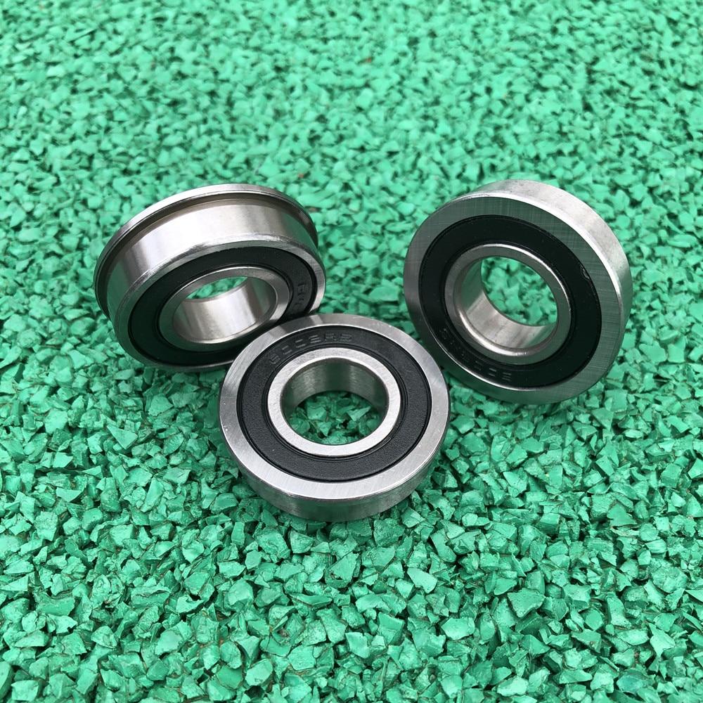 20/10pcs Flanged Bearing F6000-2RS F6001-2RS F6002-2RS  F6003-2RS F6004-2RS F6005-2RS F6006-2RS Flange Deep Groove Ball Bearings