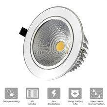 Super Bright Recessed LED Dimmable Downlight COB 6W 9W 12W 15W LED Spot light LED decoration Ceiling Lamp AC 110V 220V