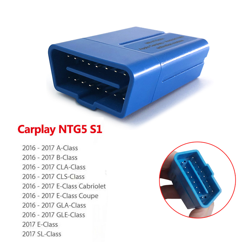 Newest CarPlay For Benz NTG5 S1 Auto Car Activator Tool For IPhone/Android Via Free Shipping