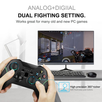 Wireless Gamepad For PS3/IOS/Android Phone/PC/TV Box Joystick 2.4G Joypad Game Controller For Xiaomi Smart Phone  Accessories 2