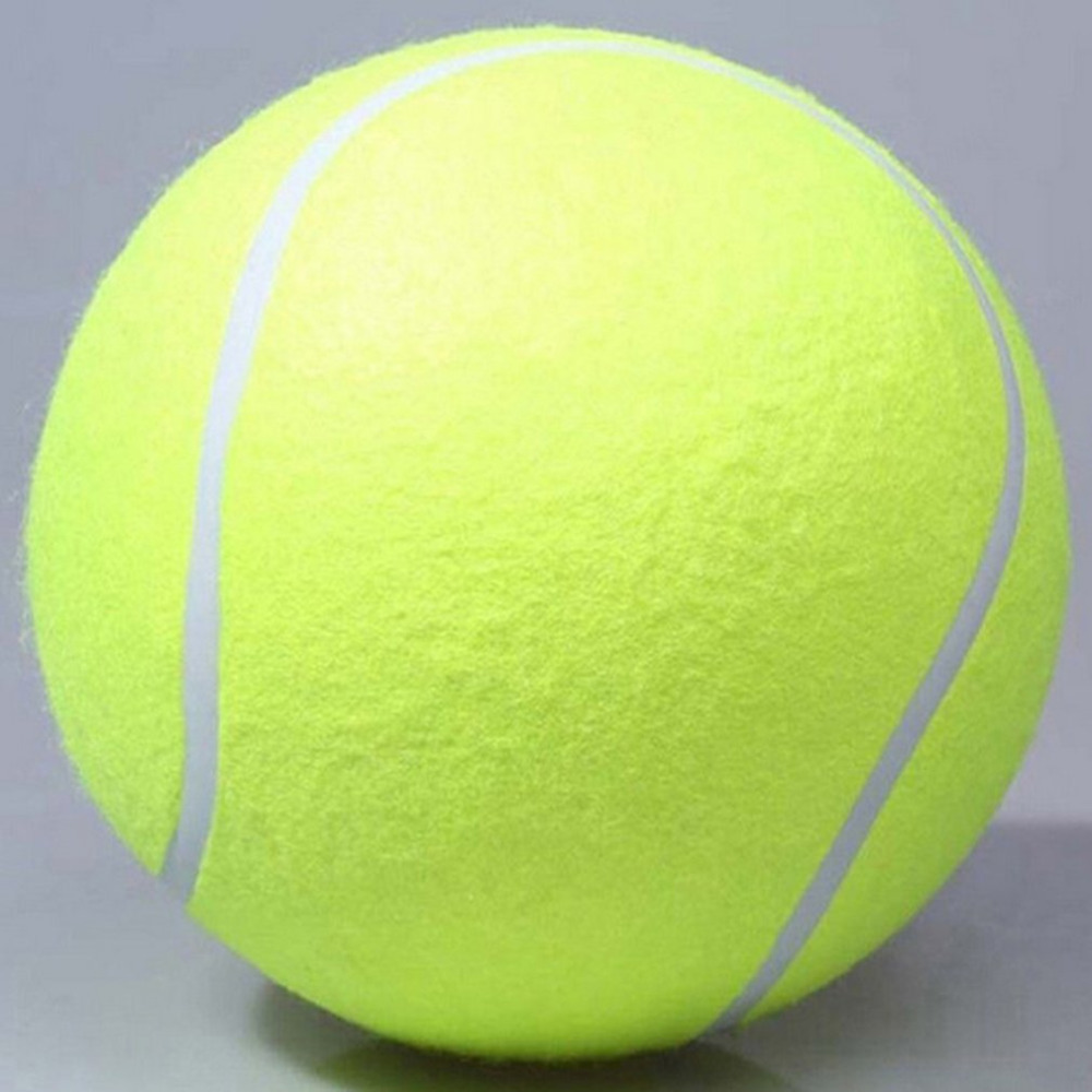 2019 24cm Tennis Ball Giant Air Inflation Tennis Ball Outdoor Sports Indoor Toy Signature Mega Jumbo Kids Toy Ball
