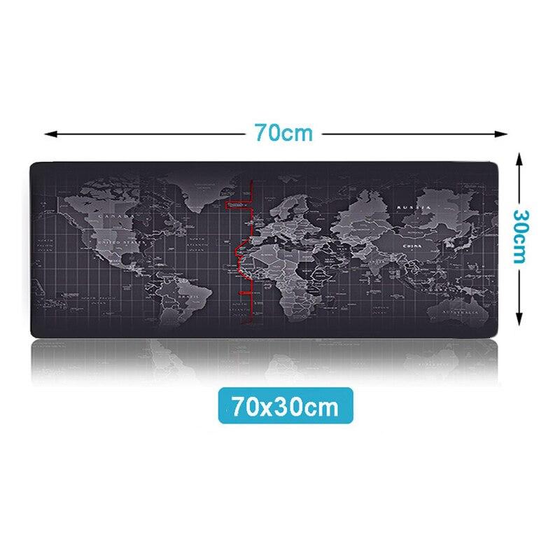 70X30Pad world map