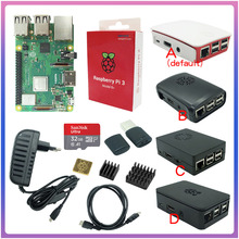 Cpu-Fan Abs-Case Raspberry Pi Bluetooth On/off-Switch HDMI 3-Model with Wifi