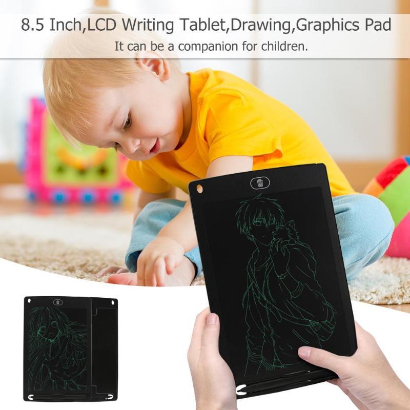 8,5 дюймов Портативный Смарт ЖК-планшет для письма Графический блокнот доска электронный блокнот доска для рисования