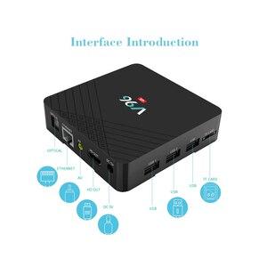 Image 3 - Оригинальная мини ТВ приставка Allwinner H6 четырехъядерный процессор Smart 4K UHD 2 ГБ 16 ГБ Android 9,0 OS Восьмиядерный WIFI IPTV медиаплеер телеприставка