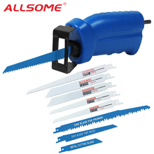 ALLSOME 往復鋸金属切削木材切削工具電動ドリルと 3 刃パワーツールアクセサリー HT1569