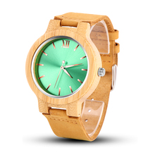 Men Watch Fashion Wooden Men's Watch Unique Wood