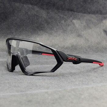 Photochromic ciclismo óculos de sol homem & mulher esporte ao ar livre óculos de bicicleta óculos de sol óculos de sol gafas ciclismo 1 lente 20
