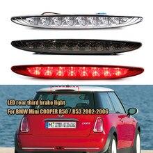 X-CAR led terceira luz de freio para bmw mini cooper r50/r53 2002-2006 parar lâmpada luz erro livre carro luz 63256935789
