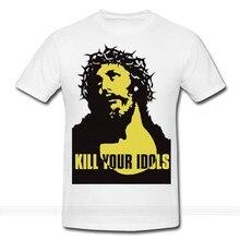 Zabij swój idol T-shirt Axl różowe pistolety N róże niestandardowe drukowane tshirthip hop zabawna koszulka wygodne t shirtsummer o neck tee