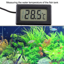 Водонепроницаемый ЖК-электронный термометр для аквариумных питомцев, цифровой наружный прибор для измерения температуры с зондом для водных продуктов
