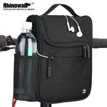Велосипедная сумка rhinowalk 5 л велосипедная складная на руль