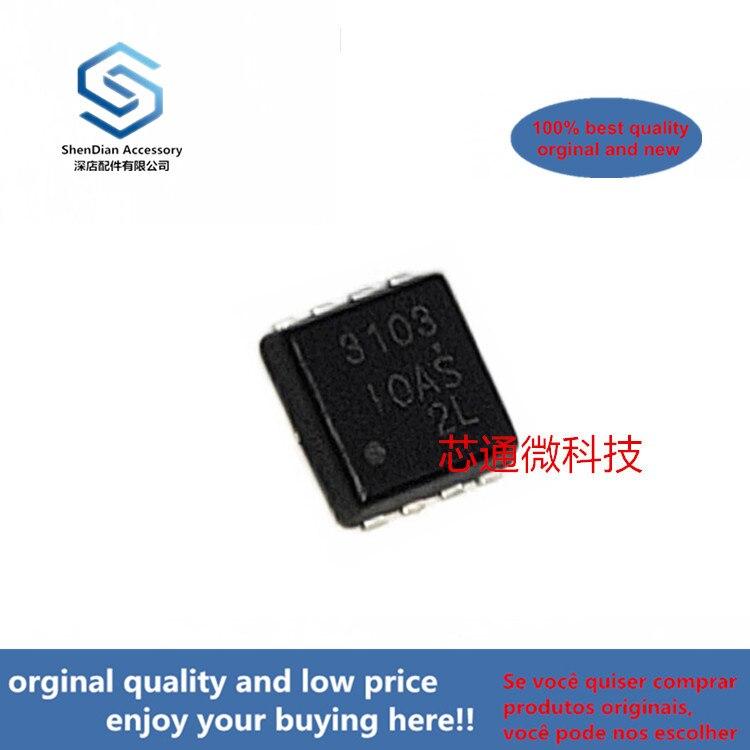 10pcs 100% Orginal New AOZ3103DI SILK-SCREEN 3103 DFN-8  3A Synchronous EZBuckTM Regulator (can Work Perfect)