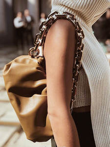 Женская сумка-хобо из мягкой кожи, сумочка на одно плечо, роскошный Повседневный клатч через плечо
