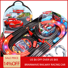 Brainwave Neurosky EEG mind control railway double track racing car attention EEG feedback track toy Concentration training цена в Москве и Питере
