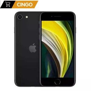 Разблокированные оригинальные смартфоны Apple iPhone SE 2020 4,7 дюйма A13 3G. RAM. Сотовые телефоны с шестиядерным процессором 64/128/256 ГБ ROM 1821 мАч