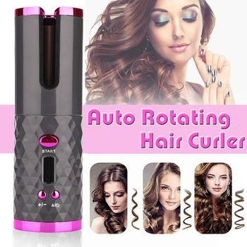 Wireless Curling Iron for Hair 2