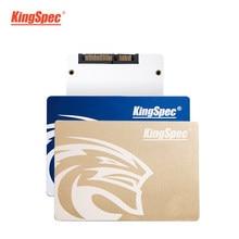 KingSpec SSD 480 ГБ SSD hdd SATA III 500 Гб ssd 960 ГБ ТБ SSD Внутренний твердотельный накопитель, Золотой металлический для настольного ПК, ноутбука, ПК, подарок
