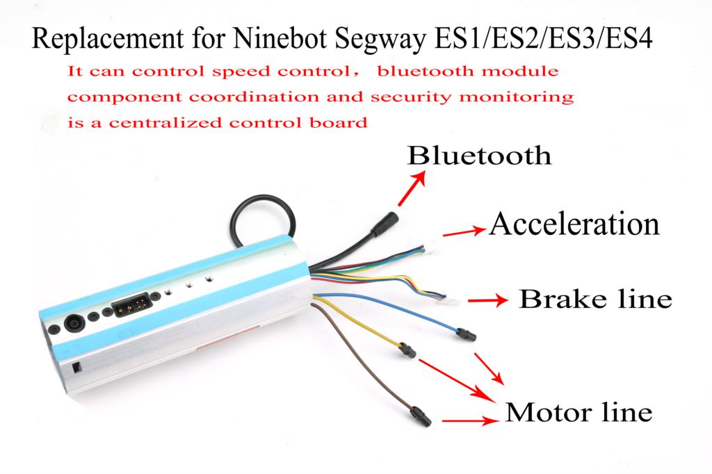 Image 5 - Replacement For Ninebot Segway ES1/ES2/ES3/ES4 Scooter Activated Bluetooth Dashboard Control Board-in Scooter Parts & Accessories from Sports & Entertainment