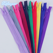 100pcs mix 3# ( 7.5cm-100cm ) closed nylon coil zipper tailor sewing process !