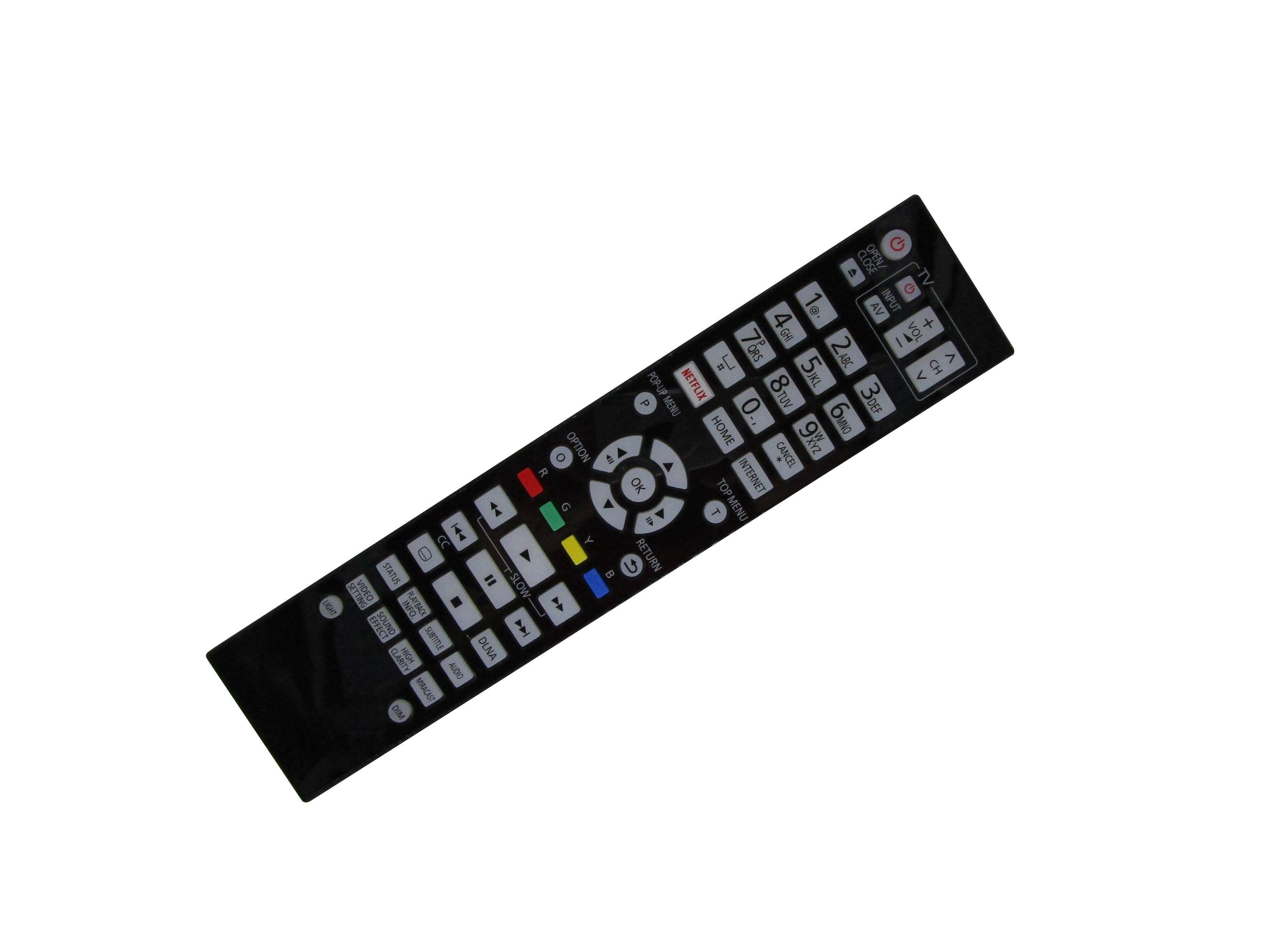 DMP-UB704 Telecomando di ricambio per Panasonic DMP-UB700 DMP-UB704EGK DMP-UB700EGK DMP-UB700EFK DMP-UB700EBK