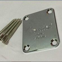 Электрическая гитара Шейная пластина фиксация гитарного шейного соединения-включая винты