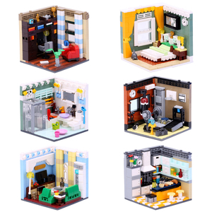 Image 3 - XINGBAO 01401/02 Genuine Building Blocks The Living House Set Building Bricks Educational Toys blocks With Figure toys