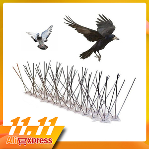 Image 1 - Hot selling 6M Plastic Bird and Pigeon Spikes Anti Bird Anti Pigeon Spike for Get Rid of Pigeons and Scare Birds Pest Control