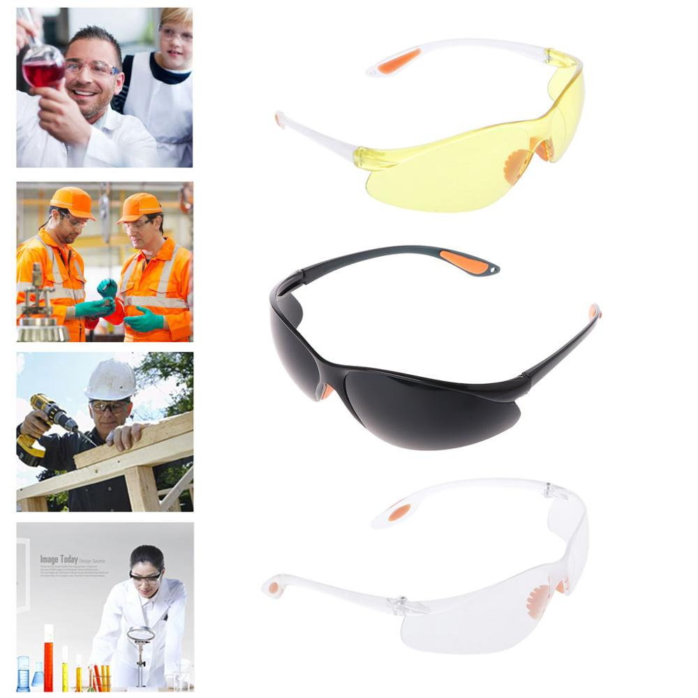 Eye Protection Protective Safety Riding Goggles Vented Glasses Work Lab Dental Safety Glasses