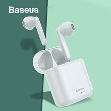 Беспроводные наушники Baseus W09 TWS с Bluetooth, интеллектуальное сенсорное управление, беспроводные наушники TWS со стереозвуком, звук басов, Смарт соединение