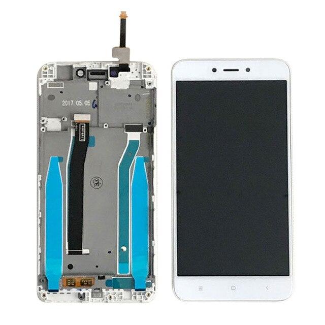 """Oryginał dla 5.0 """"pantalla Xiaomi Redmi 4X wyświetlacz w telefonach komórkowych LCDs z ramą Digitizer montaż części ekran dotykowy lcd"""