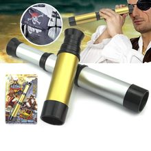 35mm Pirate Telescope Zoomable Pocket Monocular Spyglass Handheld Telescope for Kids Outdoor Activity Camping Hiking Hunting(China)