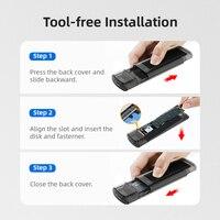 External USB 3.1 M.2 NVMe SSD Case