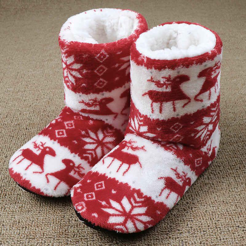 Musim Dingin Bulu Sandal Wanita Hangat Rumah Sandal Mewah Sandal Jepit Katun Indoor Rumah Sepatu Lantai Sepatu Claquette Fourrure