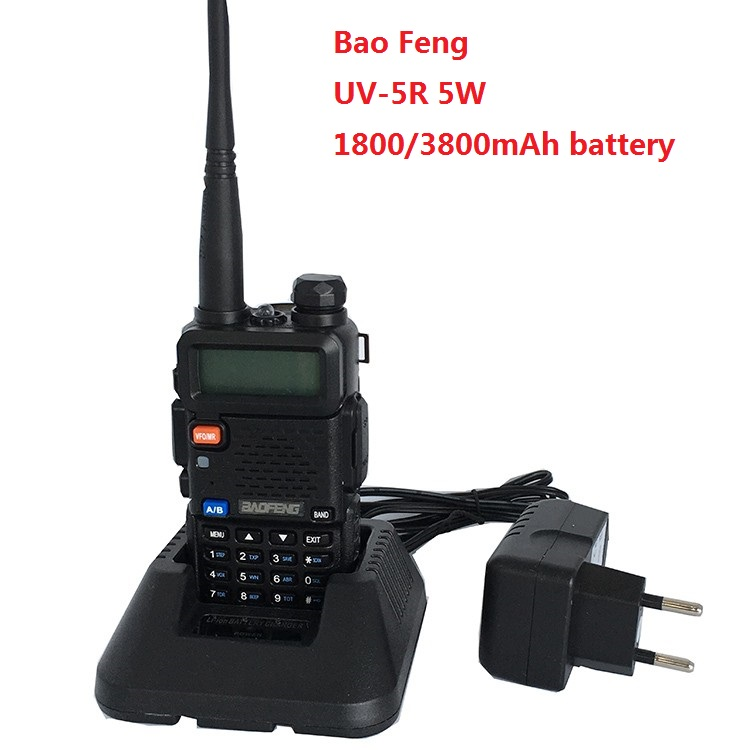 Baofeng Uv-5r 3800mAh CB Radio VOX 10 Km Walkie Talkie CB RadioTwo Way Radio Communicador For Baofeng Ham Raido Uv5r 128CH рация