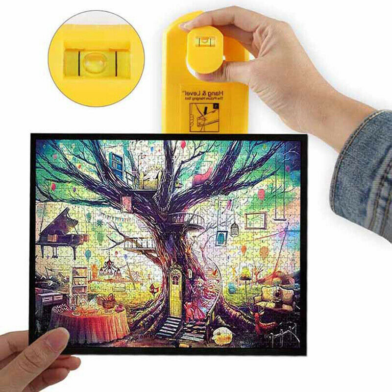Hang Level Makes Picture Easy Hanging Levels Ruler Photo Frame Level Ruler Picture DIY Frame Hanger Easy Wall Hanging Tool